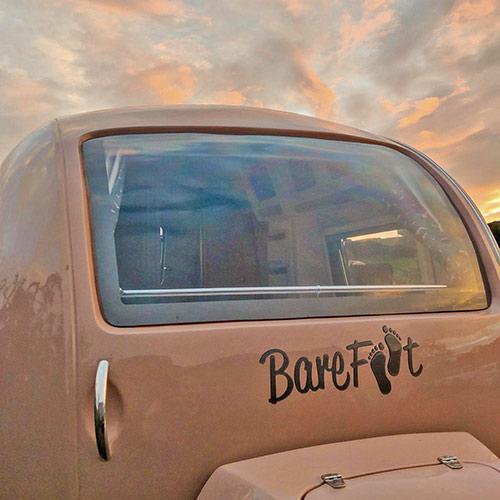 barefoot caravan for hire